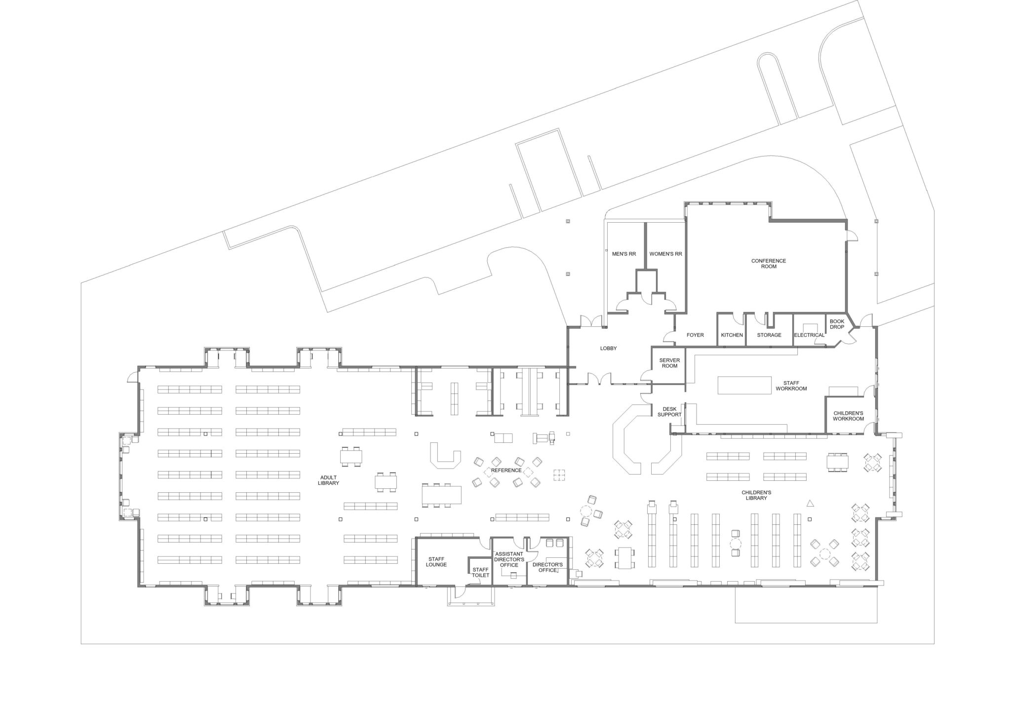 Old Floor Plan